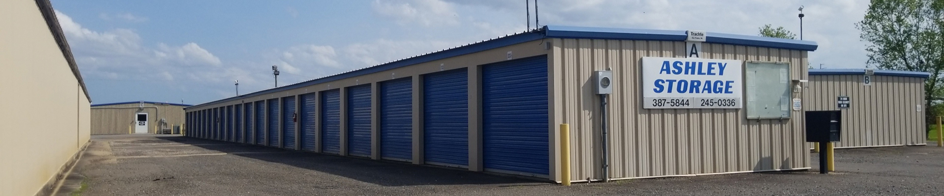 Ashley Storage units